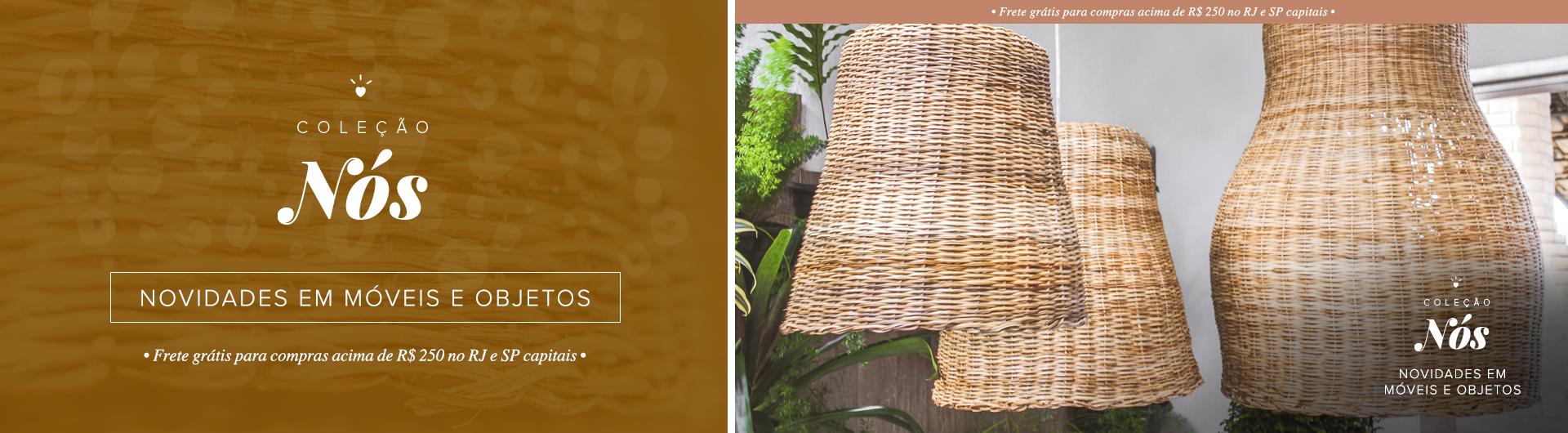 Coleção Nós O Galpão - Novidades em Móveis e Objetos